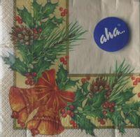 SERWETKI świąteczne Boże Narodzenie 33x33cm 20szt