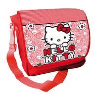 Torba listonoszka Hello Kitty Licencja Sanrio (AS6587 Czerwona)