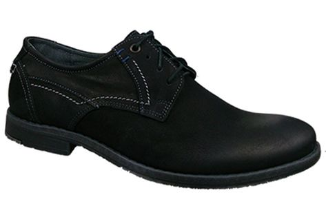 Półbuty NEEX 223  czarny Rozmiar obuwia - 42, Kolor - Czarny