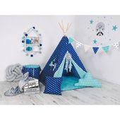 Namiot Tipi Gwieździse niebo - zestaw z okienkiem