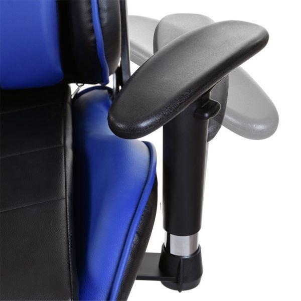Fotel biurowy GIOSEDIO czarno-biały,model GSA042 zdjęcie 6