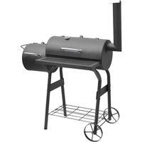 Grill ogrodowy Fieldmann FZG 1011 grill z wędzarką niezastąpiony na spotkaniach z przyjaciółmi w ciepłe letnie dni i wieczory