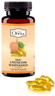 Olvita Olej Z Pestek Dyni 120 Kaps.