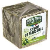 Mydło marsylskie oliwkowe 300 g - Maître Savon
