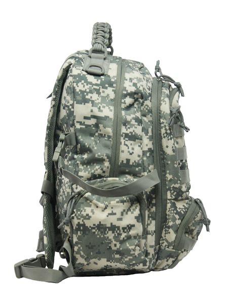 Dwukomorowy plecak szkolny St.Right 30 L, Military Moro BP36 zdjęcie 5