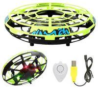 """Mini Dron Latający Lewitujący Inteligentny """"UFO"""" LED LH-X40 Y449"""