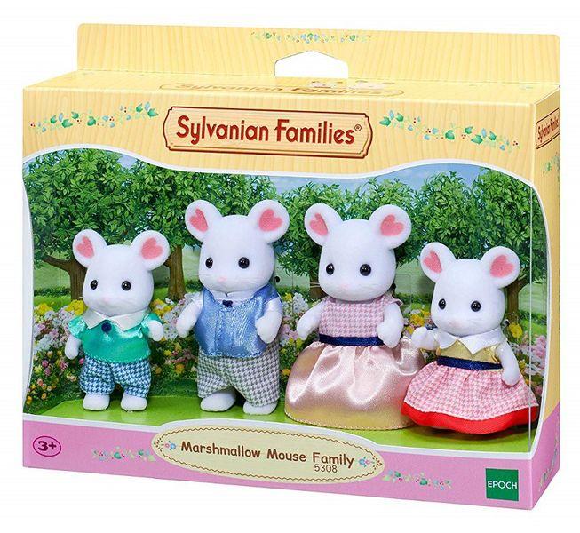 SYLVANIAN FAMILIES RODZINA PIANKOWYCH MYSZEK 5308 zdjęcie 3