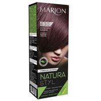 Marion Natura Styl Farba Do Włosów 630 Intensywny Burgund 80Ml + Odżywka 10Ml