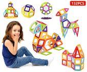 Edukacyjne klocki magnetyczne MAGICAL MAGNET no.714 132 elementy Y42