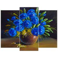 OBRAZ DRUKOWANY  Kwiaty w wazonie 90x70