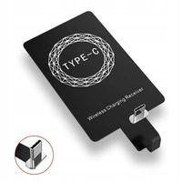 Adapter QI Indukcyjny USB-C Lightning micro USB B