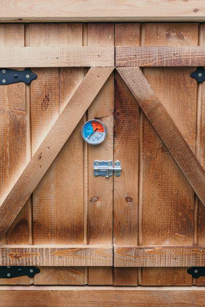 Wedzarnia Eko 60x60x150 Domowe Wedliny + palenisko zdjęcie 4