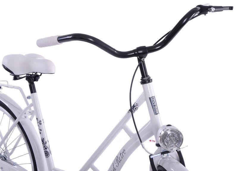Rower miejski 28 Orlando Holand Retro Biały na Arena.pl