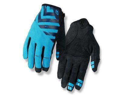 Rękawiczki męskie GIRO DND długi palec midnight blue black roz. XL (obwód dłoni 248-267 mm / dł. dłoni 200-210 mm) (DWZ)