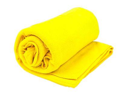 Ręcznik szybkoschnący mikrofibra frotte 70x140 cm ŻÓŁTY