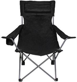 """Krzesło składane """"Deluxe"""" czarne"""