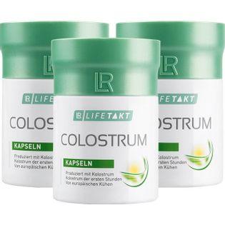 Colostrum LR Compact Kapsułki 3Pak Odporność Wzmocnienie Przeziębienie