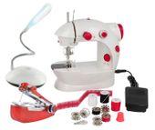 Maszyna do szycia dla dzieci + maszyna ręczna + lampa LED Y63M