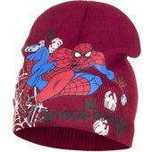 Czapka zimowa Spider-Man Licencja Marvel (HQ4059 Red 52)