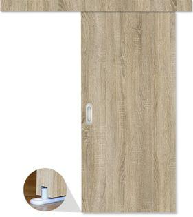 Drzwi przesuwne 76 cm cały zestaw