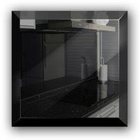 Płytka lustrzana czarna 30x30 cm