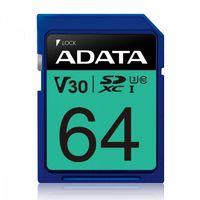 Adata Karta pamięci SDXC PremierPro 64GB UHS-I U3 V30 100/80 MB/s