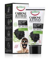 Equilibra Carbo Detox Peel-Off Mask 68% Aloe Vera Maska Do Twarzy Typu Peel-Off Z Aktywnym Węglem 100Ml