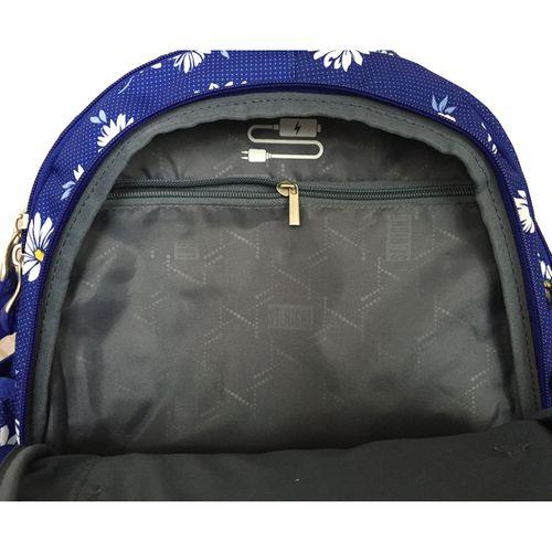 Trzykomorowy plecak szkolny St.Right 29 L, Daisies BP1 na Arena.pl
