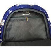 Trzykomorowy plecak szkolny St.Right 29 L, Daisies BP1 zdjęcie 4