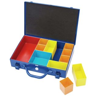 Lumarko Organizer z 11 przegródkami, 32,9x22,5x6,5 cm, niebieski