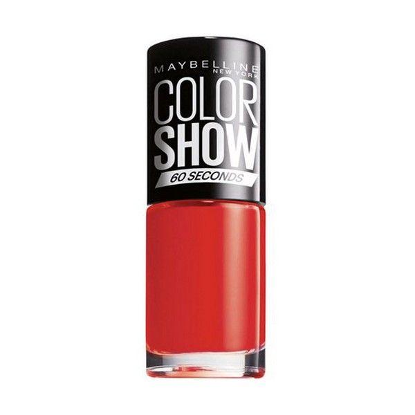 lakier do paznokci Color Show Maybelline 357 - burgundy kiss zdjęcie 1