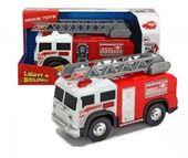 Straż Pożarna z drabiną 30 cm Światło Dźwięk Dickie Toys Action Series