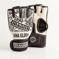 Dragon Sports rękawice MMA Glory białe Rozmiar - Senior