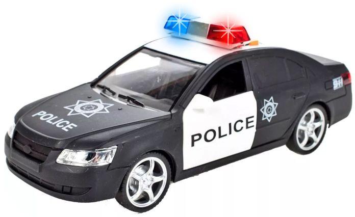 Samochód policyjny Radiowóz interaktywny dźwięki i światła Y259 zdjęcie 12