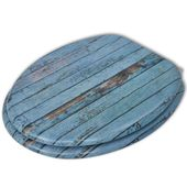 Deska klozetowa, wzór drewna zdjęcie 2