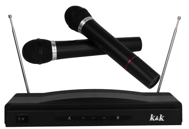 Zestaw do karaoke 2x Mikrofon bezprzewodowy + Stacja G193 na Arena.pl