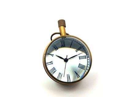Zegar mosiężny MINIATURKA CLK-0569