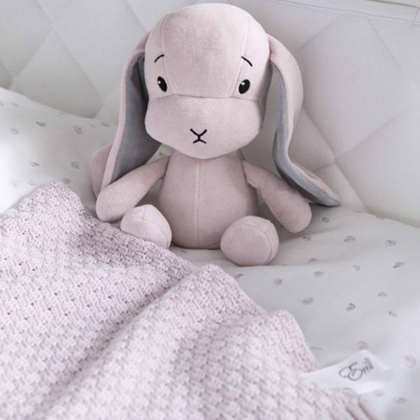 Effiki - Kocyk różowy 100% bawełny zdjęcie 2