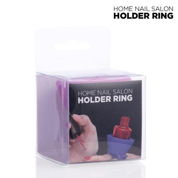 Pierścień na Lakier do Paznokci Nail Salon zdjęcie 2
