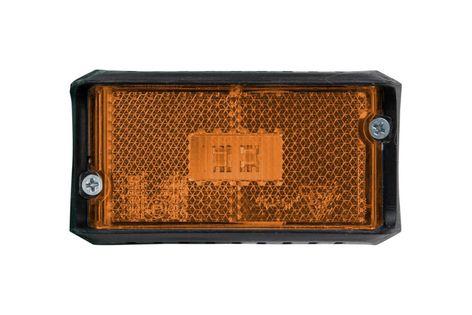 Lampa obrysowa LED żółta DPT15 z kablem