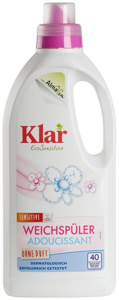Płyn do płukania i zmiękczania tkanin ECO 1 L - KLAR zdjęcie 1