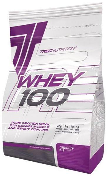 Białko Trec WHEY 100 900g o smaku naturalnym zdjęcie 1