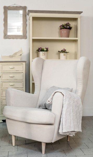 SANTO Fotel beżowy zdjęcie 4