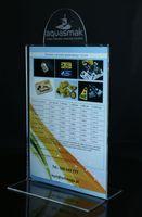 Stojak na menu A5 stojaki na menu tabliczki na stolik numery z logo