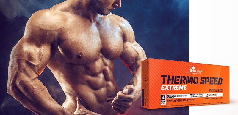 Olimp Thermo Speed Extreme 120 kapsułek Spalacz Tłuszczu+ GRATIS! zdjęcie 2