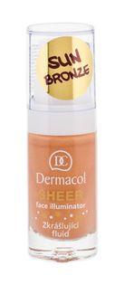 Dermacol Sheer Face Illuminator Baza pod makijaż 15ml sun bronze