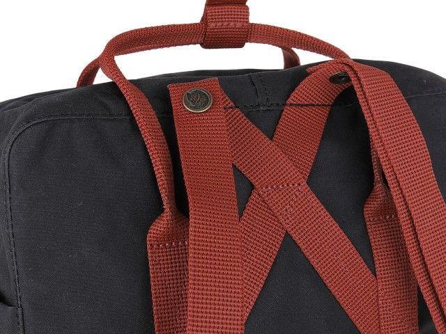 Plecak KANKEN FJALLRAVEN Black-Ox Red F23510-550-326 zdjęcie 5
