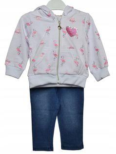 Dres dziewczynka Flamingi roz.86