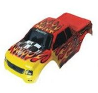 Karoseria Z Płomieniami Do Monster Truck 1:10 - 88003 - Czerwona
