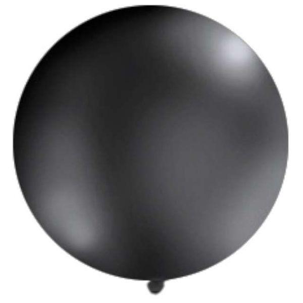 Balon GIGANT olbrzym 1 metr CZARNY 100 cm na Arena.pl